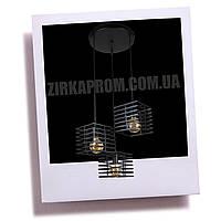 Подвесной светильник в стиле Лофт 756PR104F-3 (300) черный
