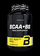 БЦАА BCAA + B6 (200 табл.) BioTech USA