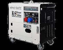 Дизельный генератор Konner&Sohnen KS 8200HDES-1/3 ATSR (6.5 кВт, 380 В), фото 2
