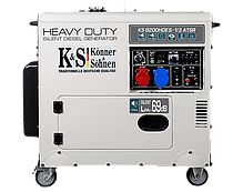 Дизельный генератор Konner&Sohnen KS 8200HDES-1/3 ATSR (6.5 кВт, 380 В), фото 3