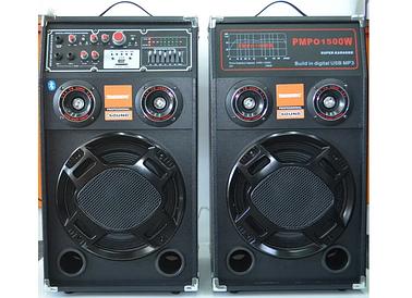 Акустическая система Temeisheng DP-284A 350W (220V, Bluetooth, USB, SD-MMC)