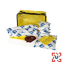 SKO-ADR-L Большой комплект для сбора масла:35 салфеток, 41 см x 51 см, 1 бон SOC, диам. 7.6 см x 122 см, 1 бон SOC диам. 7.6 см x 244 см 1 подушка, 43