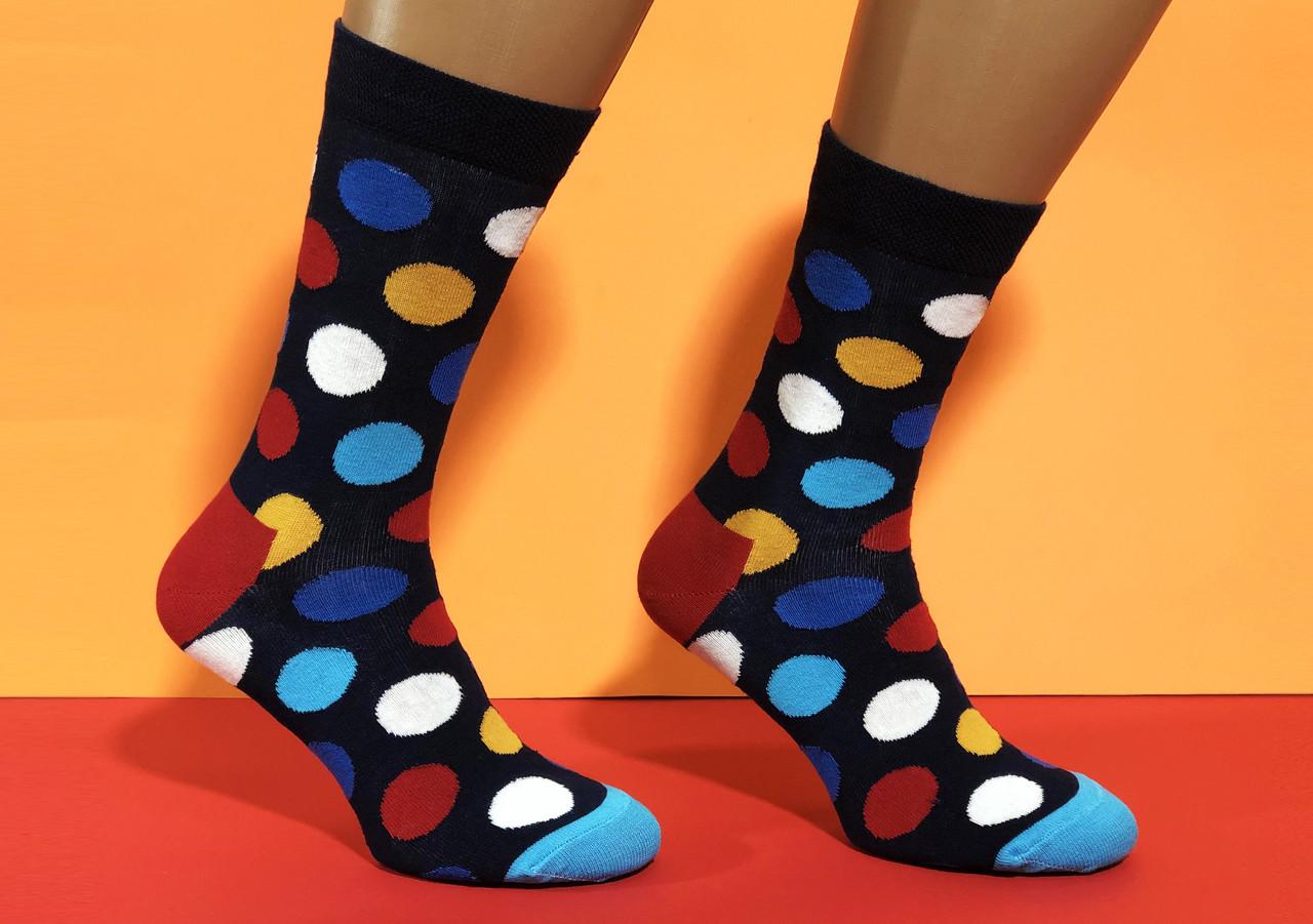 Носки Neseli Daily Круги цветные 7014