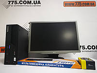 "Комплект, двухъядерный компьютер Intel 3.16ГГц + SSD, Монитор 22"" (1680х1050), клавиатура, мышь, фото 1"