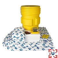 SKO-95 Прочная бочка на 268 л для сбора масла: 100 салф, 41 см x 51 см, 8 подушек, 43 см x 48 см, 12 бонов SOC, диам. 7.6x122см, 8 бонов SOC, диам.