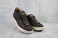 Мужские ботинки кожаные зимние коричневые Zangak 903 кор-кр+беж, фото 1
