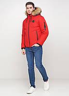 Мужская зимняя куртка Man's Wear MK-3k красная
