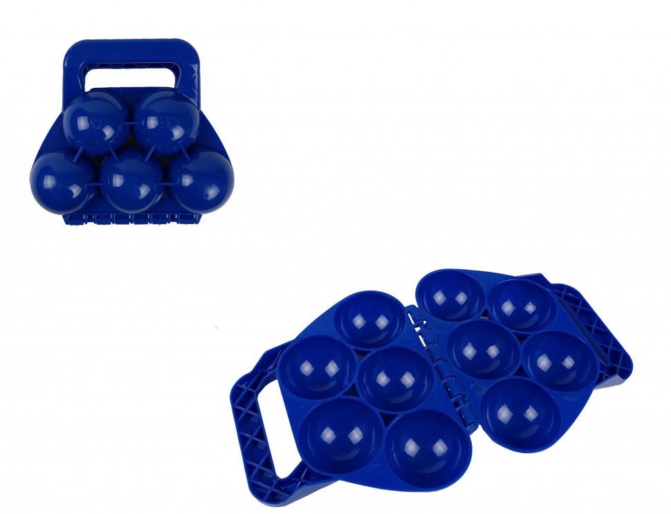 Снежколеп MS 1458Blue (Синий) 5в1,чемодан, в сетке, 16,5-18,5-6см                                (Синий)
