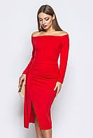 S, M, L / Вечірнє жіноче червоне плаття
