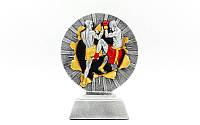 Статуетка (фігурка) нагородна спортивна MMA (р-р 16х12х4см), фото 1
