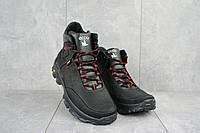 Мужские ботинки кожаные зимние черные-красные Gepard 222, фото 1