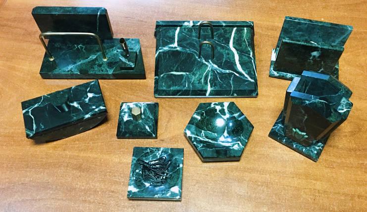 Мраморный настольный набор М8 на 8 предметов, фото 2