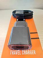 Зарядное устройство Xiaomi Original 2.5A + кабель USB Type-C Black