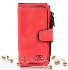 Гаманець жіночий клатч портмоне Baellerry Forever колір червоний