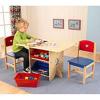 Стол с ящиками и двумя стульями Kidkraft 26912