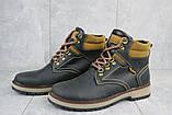 Чоловічі черевики шкіряні зимові чорні Yuves Obr 11, фото 2