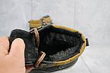 Чоловічі черевики шкіряні зимові чорні Yuves Obr 11, фото 4