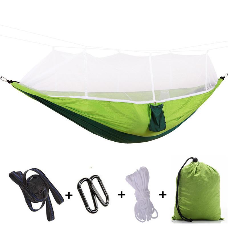Гамак подвесной с москитной сеткой Umbrella Зеленый (ST-540226781)