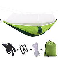 Гамак подвесной с москитной сеткой Umbrella Зеленый (ST-540226781), фото 1