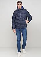Мужская зимняя куртка Tommy Montana TM-54 темно-синий