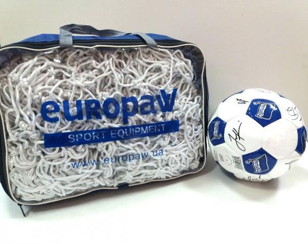 Сетка для футбольных ворот, комплект 2 шт и сумка