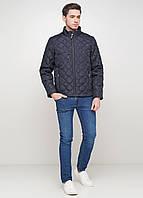 Мужская зимняя куртка Tommy Montana TM-55 темно-синий
