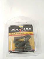 Клипса с карабином ( helicopter beads )