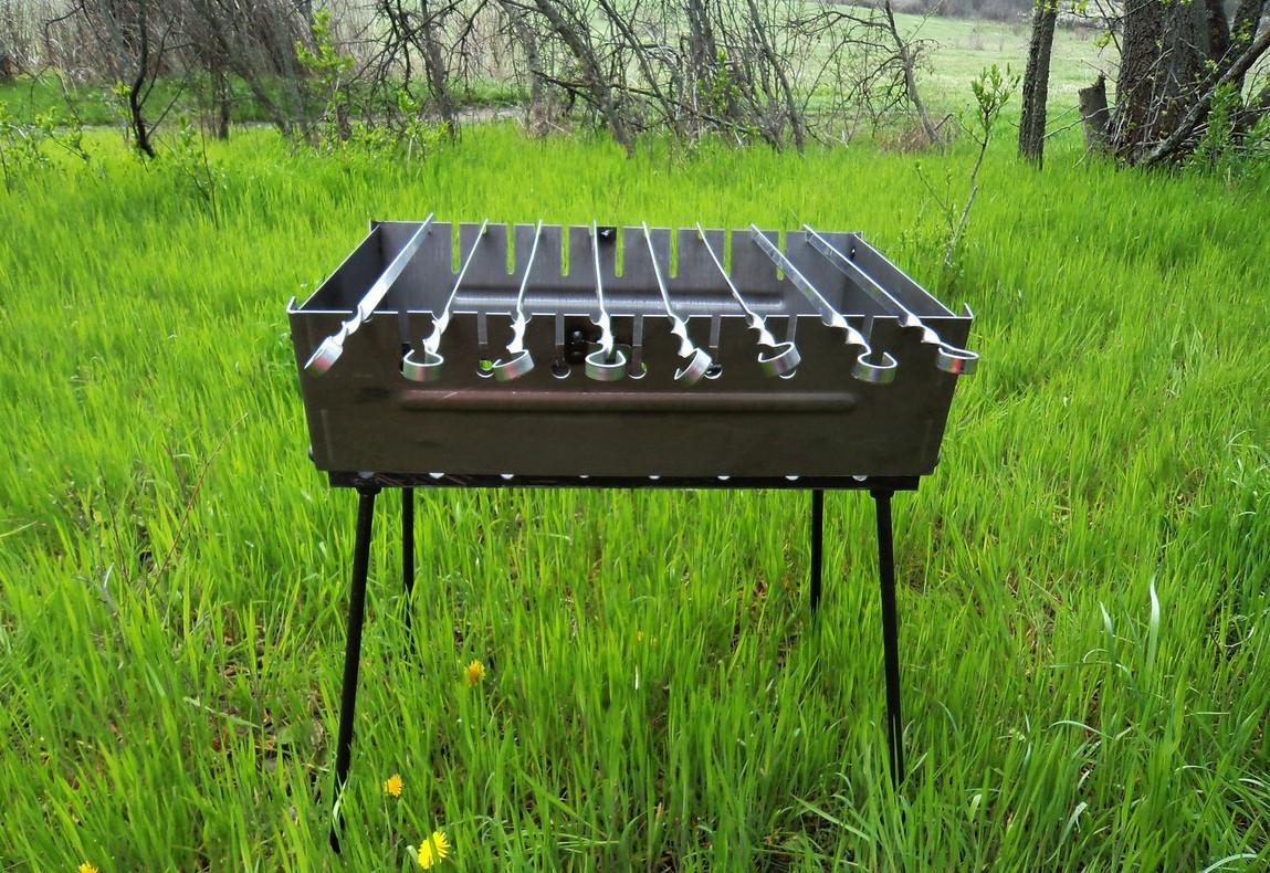 Мангал чемодан BBQ на 8 шампуров (mk-УК-М8)