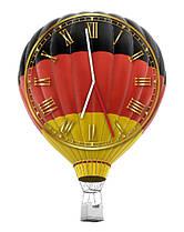 Настенные часы Воздушный шар с флагом Германии