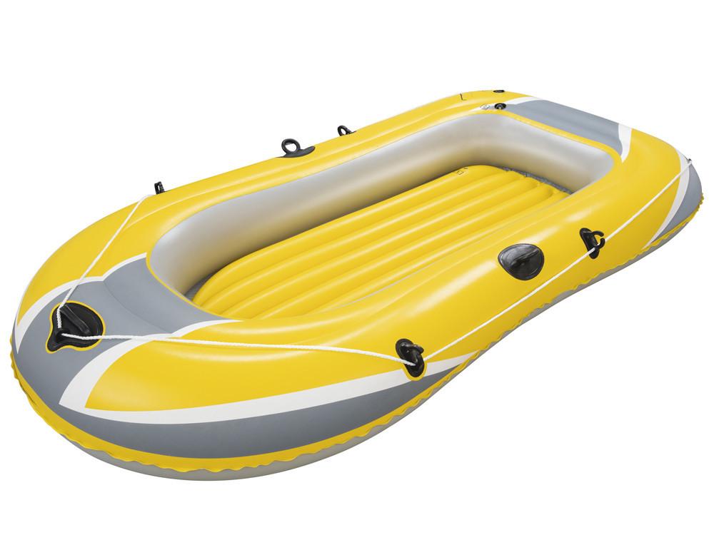 Одноместная надувная лодка Bestway 61064 Hydro Force Raft Желтая