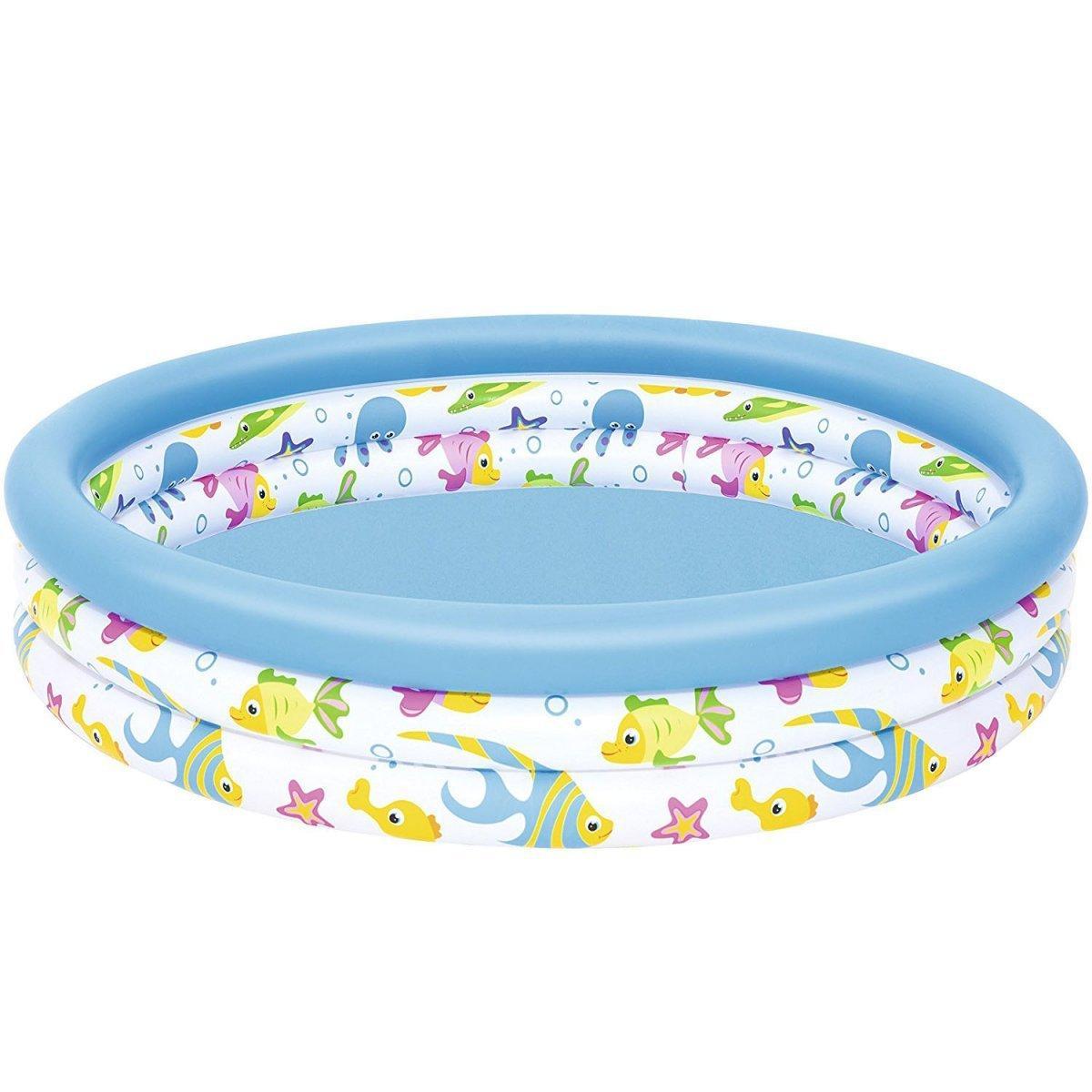 Детский надувной бассейн Bestway 51009 122 х 25 см Белый (RT-8679)