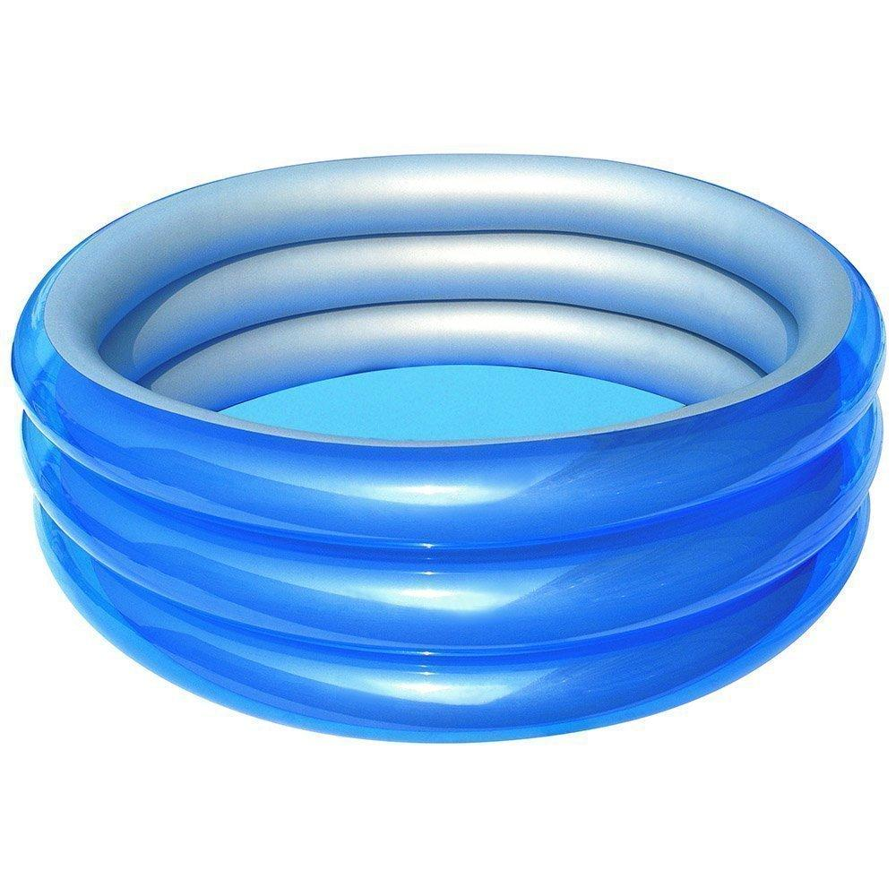 Детский надувной бассейн Bestway 51041 Метталик 150 х 53 см Синий (RT-8680)