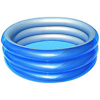Детский надувной бассейн Bestway 51041 Метталик 150 х 53 см Синий (RT-8680), фото 1