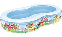 Детский надувной бассейн Bestway 54118 Подводный мир 262 x 157 x 46 см (RT-8687), фото 1