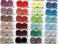 Пуговицы со сквозными отверстиями женские 25 мм и 23 мм