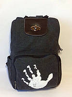 Городской рюкзак. Стильный рюкзак. Недорогой рюкзак. Практичный рюкзак. Интернет магазин. Код: КСМ158, фото 1