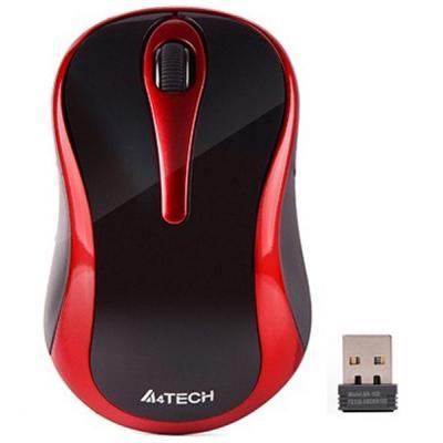 Мышка A4tech G3-280N Black-Red