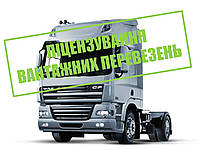 Ліцензія на міжнародні вантажні перевезення. Консульація. Підготовка документів. Отримання ліцензії.
