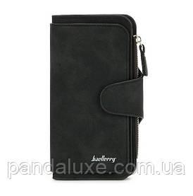 Гаманець жіночий клатч портмоне Baellerry Forever колір чорний