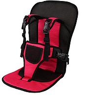 Детское автокресло бескаркасное Multi-Function Car Cushion Красный