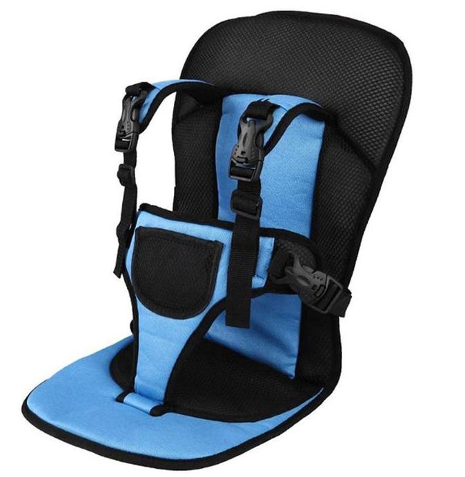 Детское автокресло бескаркасное Multi-Function Car Cushion Синий