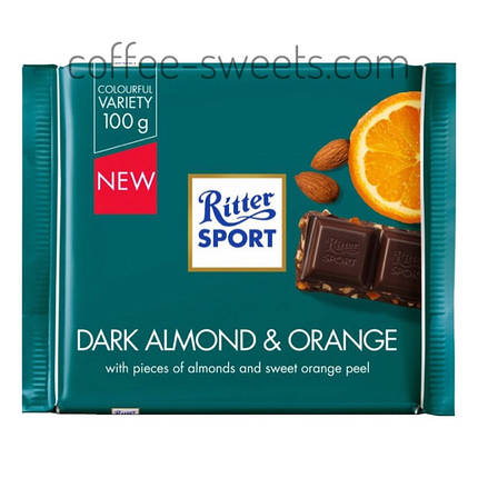 Шоколад Ritter Sport Mandel Orange 100 гр, фото 2