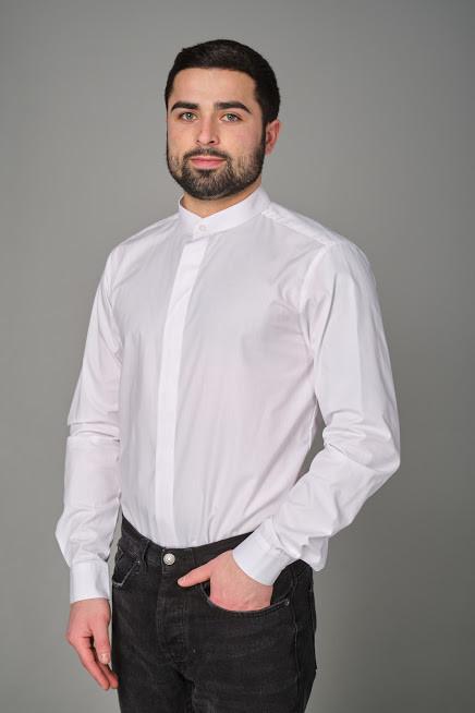 Мужская рубашка для официанта и бармена классическая