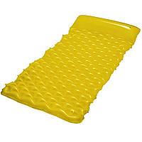 Пляжный надувной матрас-ролл Bestway 44020 213 х 86 см Желтый (RT-8770s9351), фото 1