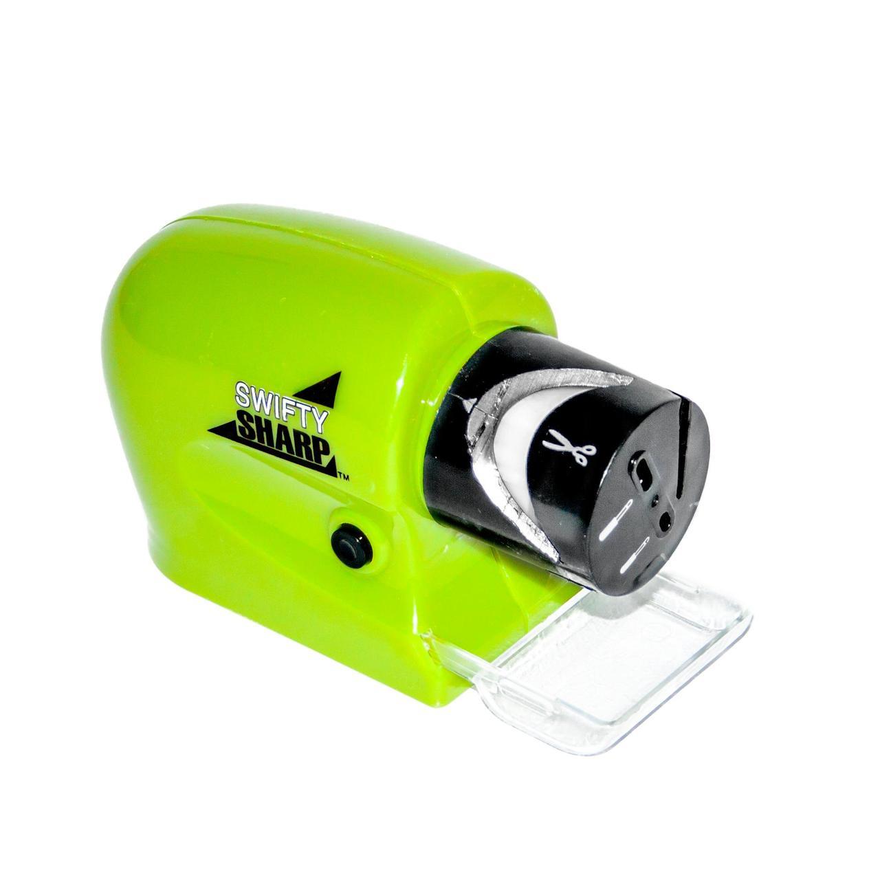 Электрическая точилка для ножей WL Swifty Sharp Зеленый (W/4422)