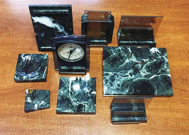Мраморный настольный набор М9 на 9 предметов, фото 2