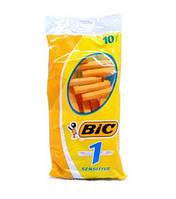 Набор одноразовых бритвенных станков  Bic Sensitive в упаковке 10 шт Оригинал