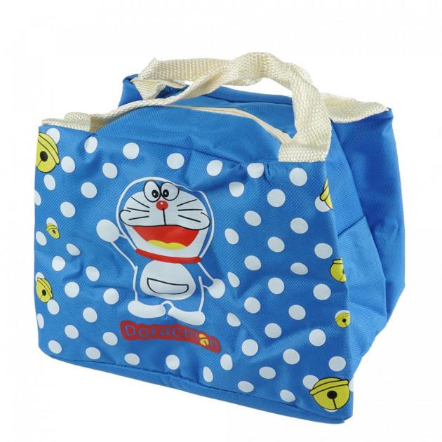 Детская термосумка WL Doraemon (Дораэмон) 21х15х17 см Синяя (W/4863D)