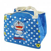 Детская термосумка WL Doraemon (Дораэмон) 21х15х17 см Синяя (W/4863D), фото 1