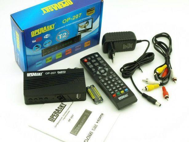 Цифровой тюнер Т2, телевізійний приймач, ресивер, приставка Operasky OP-207